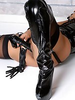 Ebony latex...