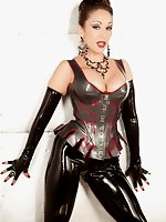 Latex fetish tgp